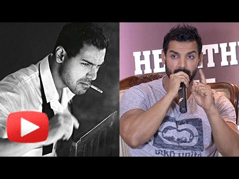 John Abraham REACTS On Smoking In Dishoom