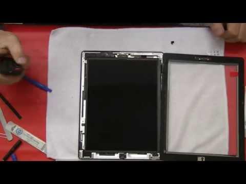 ipad 2 3 touch glas tauschen reparieren wechseln ausf hrliche anleitung deutsch selber. Black Bedroom Furniture Sets. Home Design Ideas