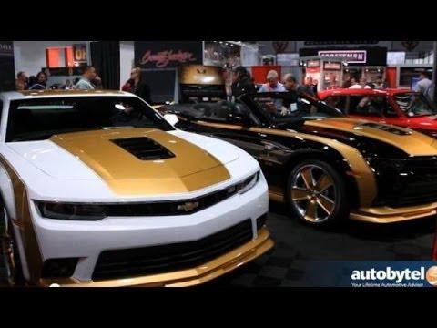 SEMA 2013: Barrett-Jackson and the LV1 Camaro