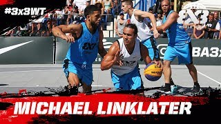 Check out Michael Linklater of Saskatoon and some of his most spectacular moments from the FIBA 3x3 World Tour Saskatoon Masters 2017!Subscribe to the FIBA3x3 channel: http://bit.do/SubscribeFIBA3x3More on:http://twitter.com/FIBA3x3http://www.facebook.com/FIBA3x3http://fiba3x3.comhttp://instagram.com/FIBA3x3