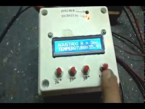 control temperatura incubadoras