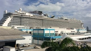 Flå Norway  City new picture : Norwegian Escape Cruise Day 1 - Departure from Miami, Florida December 19th, 2015
