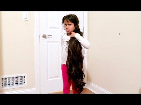 HER HAIR GREW OVERNIGHT!!! **PRANK WAR** (видео)