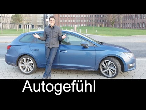 2015 Seat Leon ST test drive REVIEW Leon estate/wagon – Autogefühl