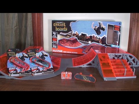 HexBug - Tony Hawk Circuit Boards (RC Skateboard) - Review and Skate