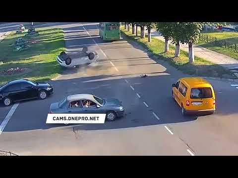 ДТП в Каменске на улице Антошина