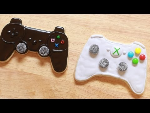 VIDEO GAME CONTROLLER COOKIES – NERDY NUMMIES