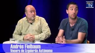 El periodista Felipe Pozo conversa con Eugenio Aguiló, Andrés Fielbaum y Eugenio Rivera