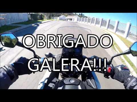 AGRADECENDO AS MENSAGENS DE APOIO - CANAL DO PIVO (HONDA NC 750X)