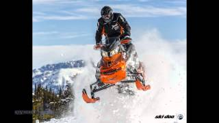 10. SkiDoo MXZ Renegade Backcountry Mountain Snowmobiles 2015