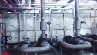 Giới thiệu bể nước lắp ghép GRP giải pháp thay thế cho bể bể - tông truyền thống