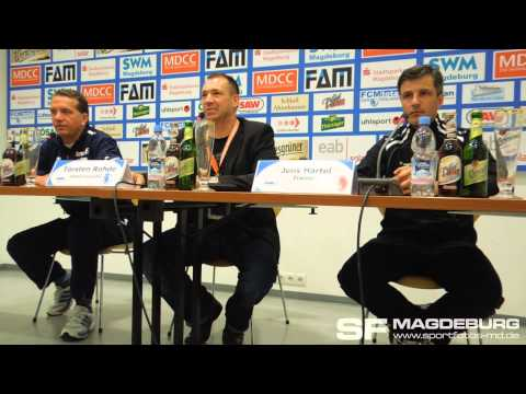 Video: Pressekonferenz - 1. FC Magdeburg gegen Berliner AK 07 1:1 (0:1)