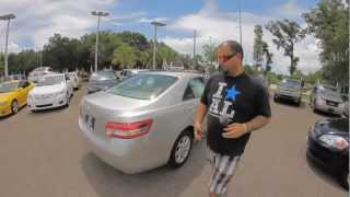 Autoline's 2011 Toyota Camry LE Walk Around Review Test Drive