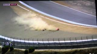 Video Marc Marquez crash and win Laguna Seca 2013 MP3, 3GP, MP4, WEBM, AVI, FLV Juni 2018