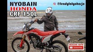 REVIEW & IMPRESI PERTAMA NAIK HONDA CRF 150 L | MOTOVLOG PEMULA | NYOBAIN MOTOR ORANG