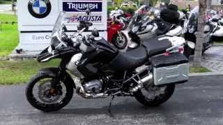 6. 2011 BMW R1200GS Triple Black at Euro Cycles of Tampa Bay