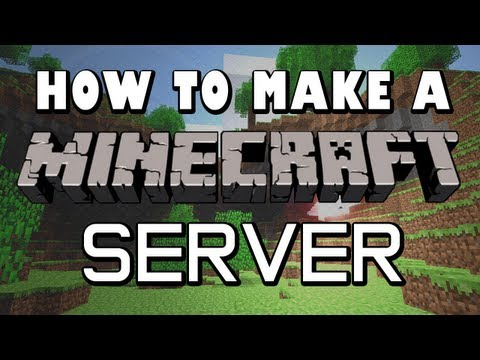 How To Make A Minecraft Server: 1.8.1 [DIRECT CONNECT] [EASY]