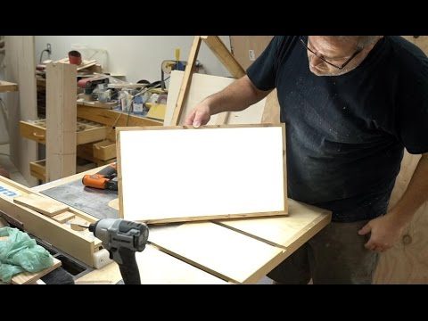How To Make A Super Bright LED Light Panel (Battery Powered)