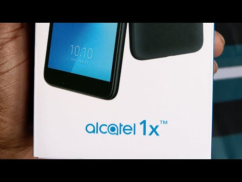 Alcatel 1X | Android Go Unboxing and First Impressions