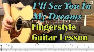 Nonton I'll See You In My Dreams (With Tab) - Watch and Learn Fingerstyle Guitar Lesson - Camilo James Film Subtitle Indonesia Streaming Movie Download