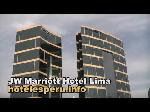 JW Marriott Hotel Lima - Video