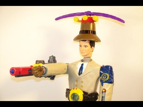 1999 DISNEY'S INSPECTOR GADGET SET OF 8 McDONALD'S HAPPY MEAL MOVIE TOY'S VIDEO REVIEW