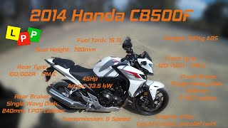2. Honda CB500F Test Ride/Review