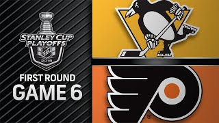 Guentzel scores four to lead Penguins to Second Round by NHL