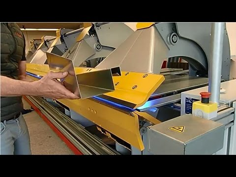Thalmann TZ - Schwenkbiegemaschine - Folding machine - Piegatrice a bandiera - Plieuse