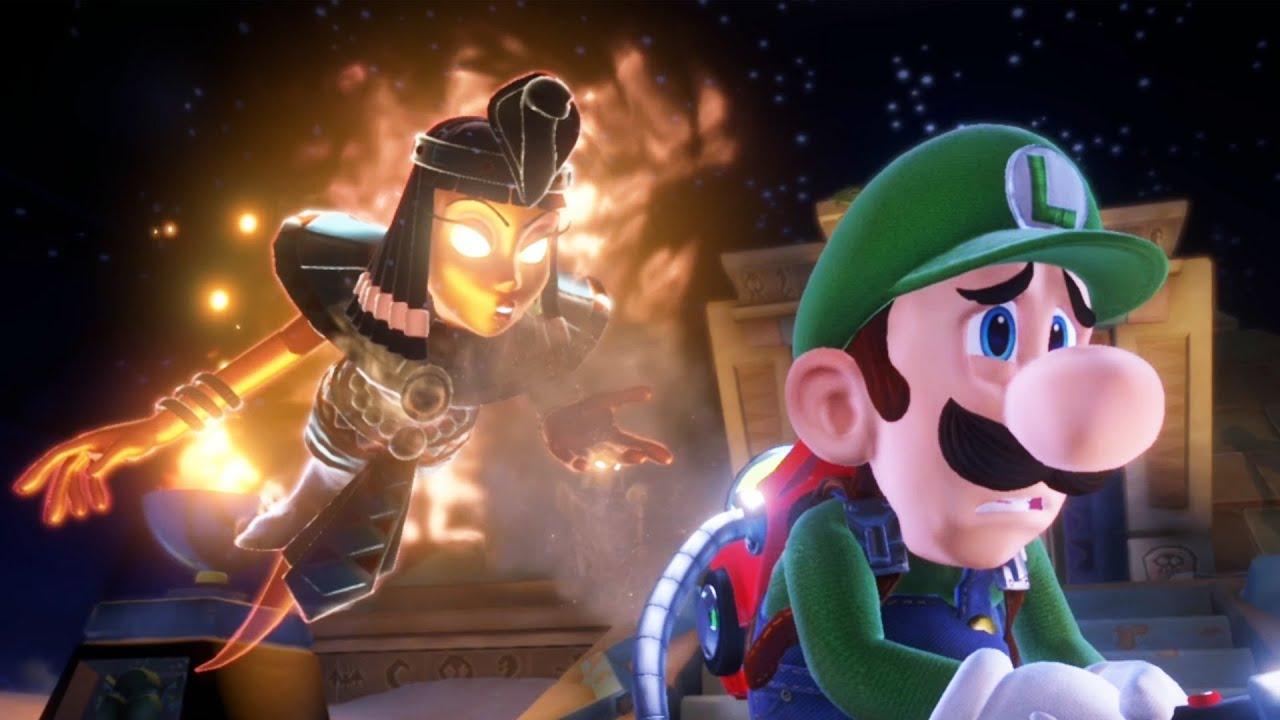 Luigi Gets A HOT New Girlfriend In Luigi's Mansion 3 - Part 7