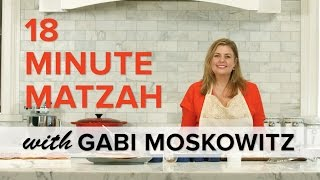 18 Minute Matzah Recipe