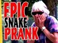 Snake In Public Prank - Sketch Empire - candid camera, prank, public, roman atwood, scare, scared, sketch empire, snake, funny