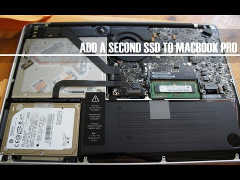 , title : 'How To Add Second A SSD to Replace Optical Drive MacBook Pro 2012'