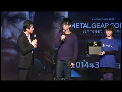 Hideo Kojima - Japanese PS4 Launch Countdown Event