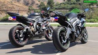 8. Yamaha R6 or Kawasaki Ninja ZX6R? M4 or Two Brothers Exhaust? Sound Test