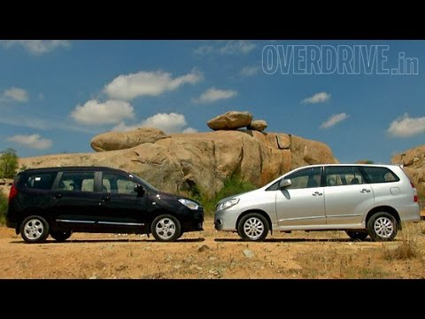 Renault Lodgy vs Toyota Innova – Comparative Review
