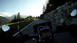 6. Moto Guzzi Griso 1200 8V SE - easy overtaking in the Swiss alps