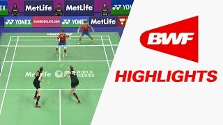Hong Kong Hong Kong  City new picture : Yonex Sunrise Hong Kong Open 2016 | Badminton F – Highlights