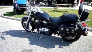 7. 2003 Honda Shadow ACE 750 Deluxe for sale at Ron Ayers Motorsports in Greenville, NC.