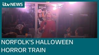 Full scream ahead for Norfolk's Halloween Horror Train | ITV News