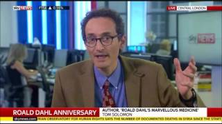 Roald Dahl is 100 - Tom on Sky News, 13/09/2016