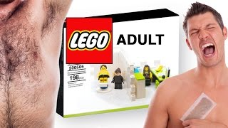 Video LEGO Adult - MANSCAPING MADNESS (funny play sets for grownups) MP3, 3GP, MP4, WEBM, AVI, FLV Mei 2019