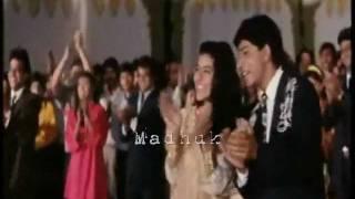 Song- Chupana Bhi Nahin Aata  Movie: Baazigar (1993) With Sinhala Subtitles