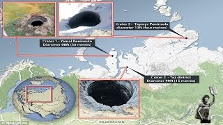 Siberian Craters 'may Solve The Mystery Of The Bermuda Triangle'