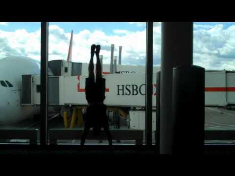 Handstands Around the World Boston London Sweden Singapore