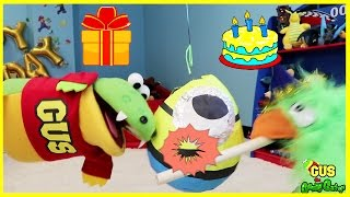HAPPY BIRTHDAY Pretend Play Toys! Funny Kids Video Family Fun Balls for Children
