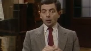 Mr. Bean - WORST Time to get the Hiccups!