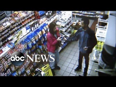 便利商店員工發現女子被綁匪威脅提款後,大家都沒料到他竟敢做出這種反應!
