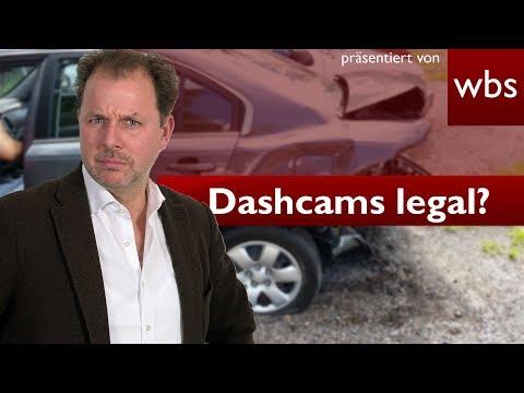 Sind illegale Dashcam-Aufnahmen vor Gericht zulässig?