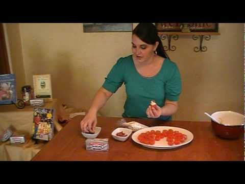 Mini BLT Stuffed Tomatoes-by Chanda Strozza
